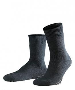 FALKE Herren Socken Homepads, Baumwollmischung, 1 Paar, Schwarz (Black 3000), Größe: 43-46 - 1