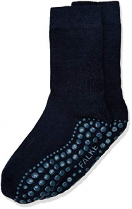 FALKE Unisex Kinder Catspads K So Socken, blickdicht, Blau (Dark Navy 6370), 27-30 - 1