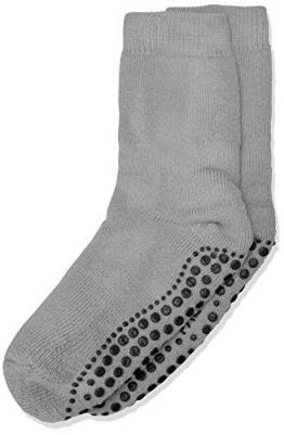 FALKE Unisex Kinder Catspads K So Socken, blickdicht, Grau (Light Grey 3400), 31-34 - 1
