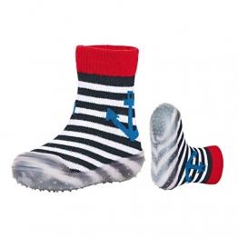 Sterntaler Jungen Adventure-Socks Anker Aqua Schuhe, Blau (Marine 300), 22 EU - 1