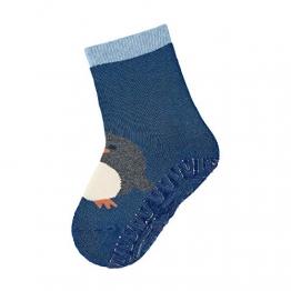 Sterntaler - Jungen Socken Fli Fli Soft Pinguin, Blau (Blau), 21/22 - 1