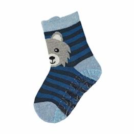 Sterntaler Jungen Socken Fli Fli Air Wolf, Blau (Hellblau), 21/22 EU - 1