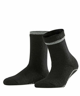 FALKE Damen Stoppersocken Cuddle Pads - Baumwollmischung, 1 Paar, Schwarz (Black 3009), Größe: 39-42 - 1