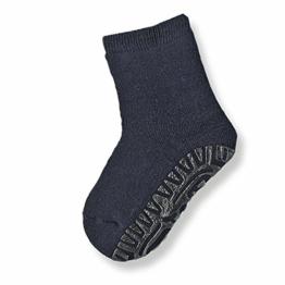 Sterntaler Fliesen Flitzer Soft, Mädchen Socken,Blau (Marine 300), Gr.21/22 (Herstellergröße: 18-24 Monate) - 1